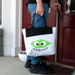Marvin the Mummy Halloween Tote